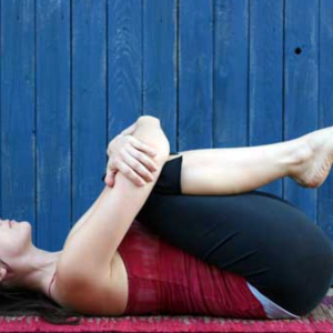 Apanasana – Knees to chest pose