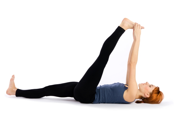 Supta Padangusthasana – Reclined Big Toe Pose