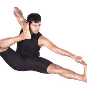 Akarm Dhanurasana – Archer Pose, The shooting bow pose