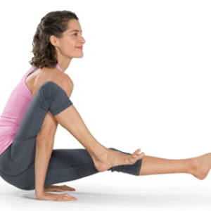 Eka Hasta Bhujasana – Elephant Trunk Pose, One leg over shoulder Pose